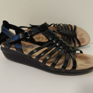 BearTraps Black Fanabelle Sandal